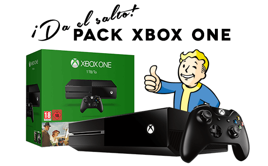 Pack XBOX ONE y Fallout 4