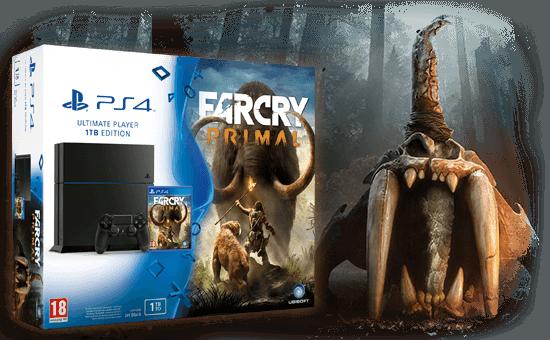 PS4 1 TB + FARCRY PRIMAL