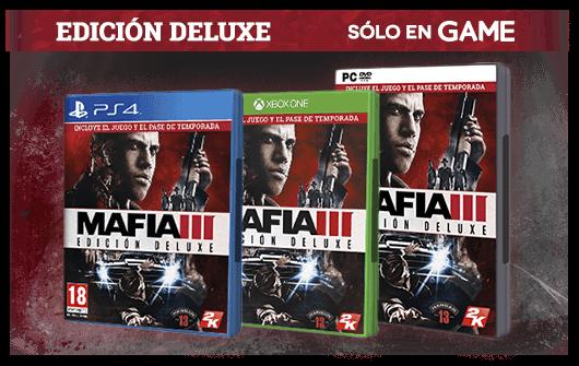 Compra Mafia III Edición Deluxe en GAME