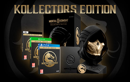 COMPRAR MORTAL KOMBAT 11 – KOLLECTORS EDITION