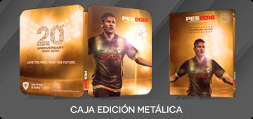 Regalo caja metálica PES 2016