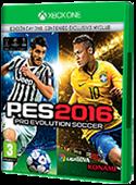 Portada XBOX 360 Pro evolution Soccer 2016