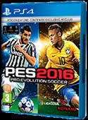 Portada PS4 Pro evolution Soccer 2016