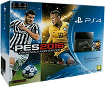 Consola Pack Pro evolution Soccer 2016
