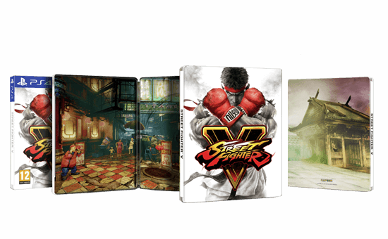 Edición limitada Street Fighter V