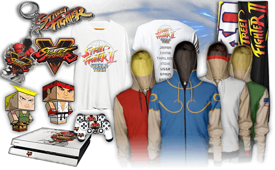 Merchandising Street Fighter V