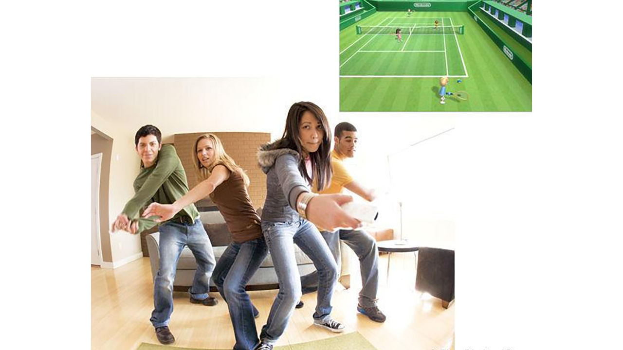 Wii Blanca + Wii Sports