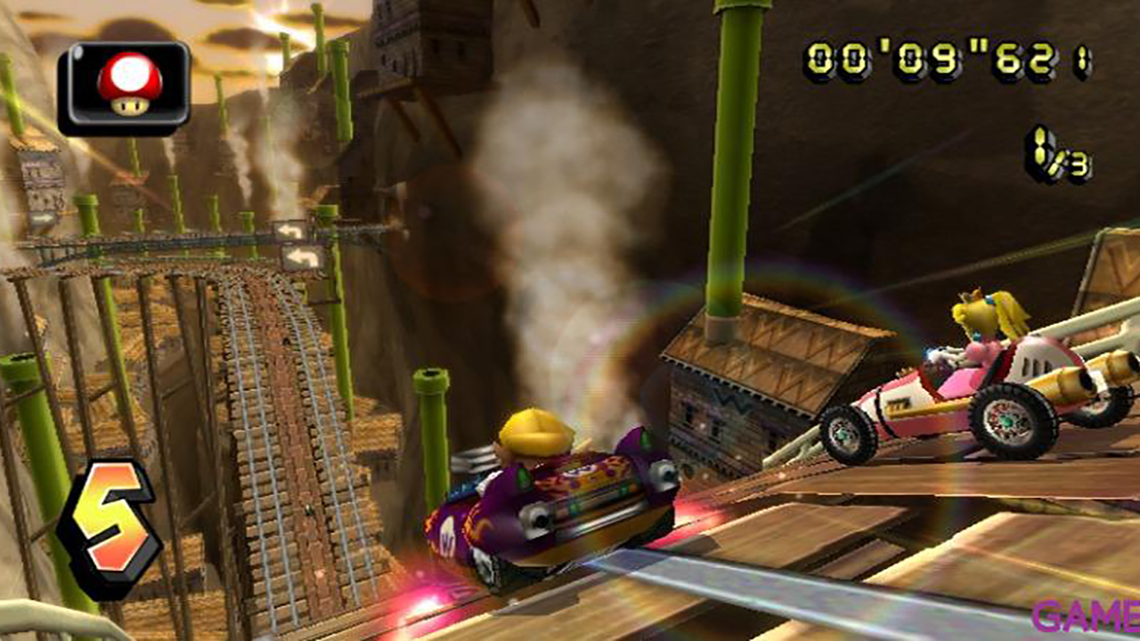 Mario Kart + Volante para Wiimote Nintendo