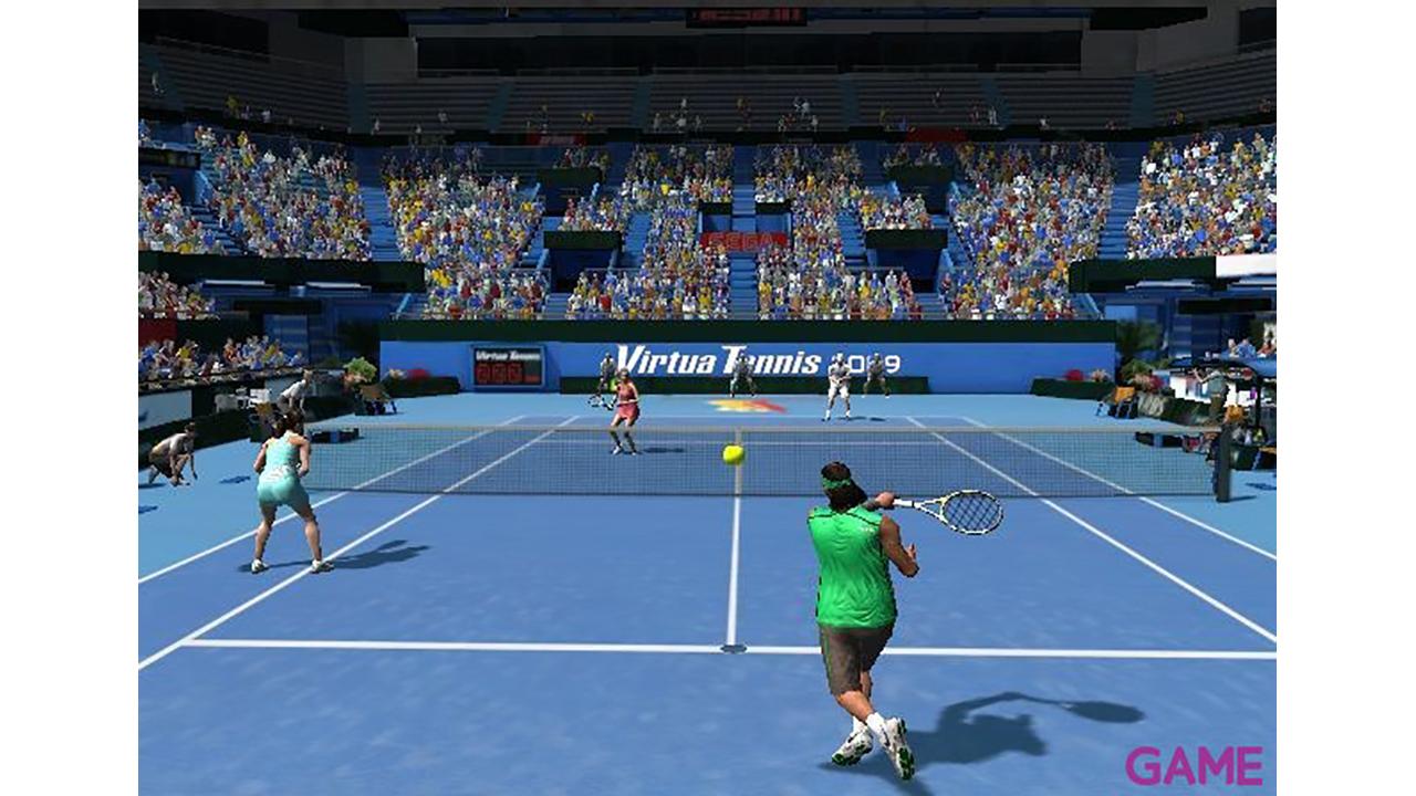 Virtua Tennis 2009 + 2 Raquetas