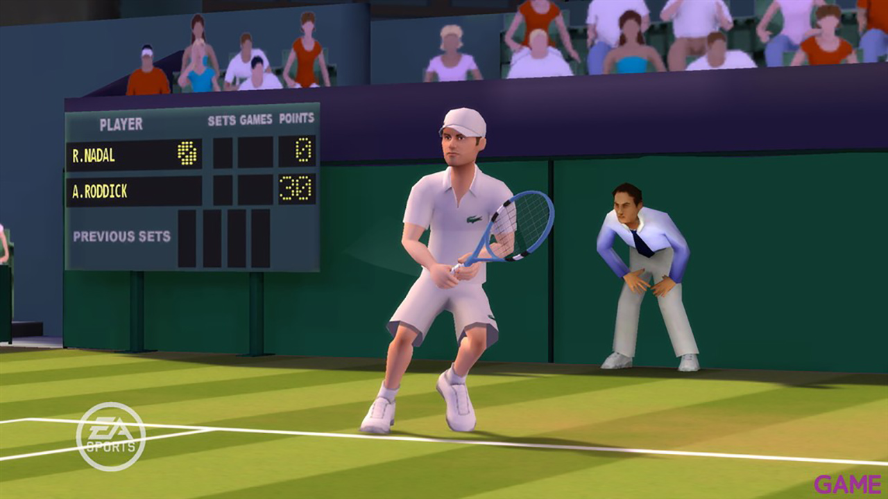 Grand Slam Tennis + Wii Motion Plus