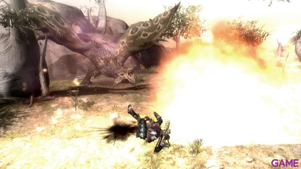 Monster Hunter Tri + Mando clásico negro