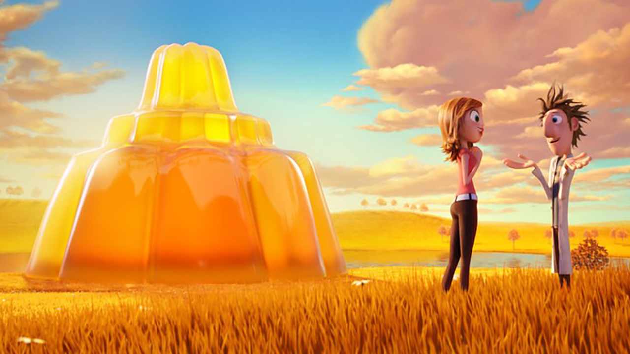 Lluvia de Albóndigas Bluray 3D