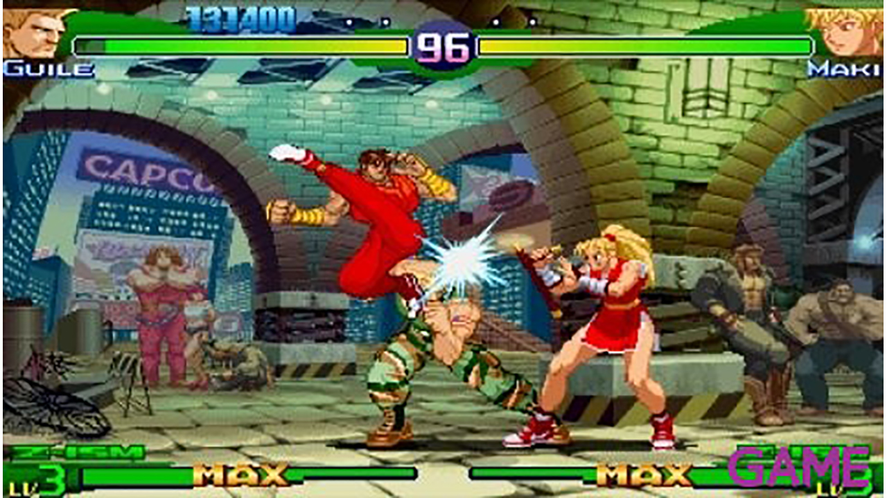 Street Fighter Alpha 3 Max Essentials