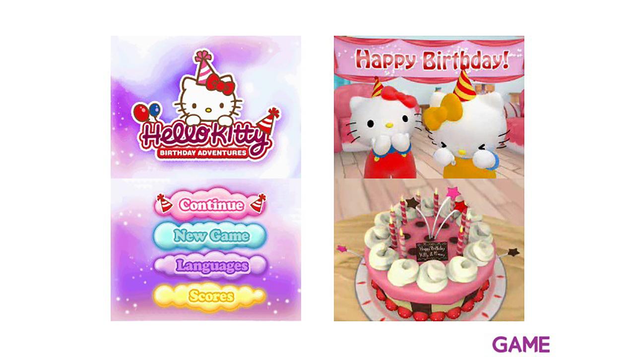 Hello Kitty Aventura del Cumpleaños + Estuche