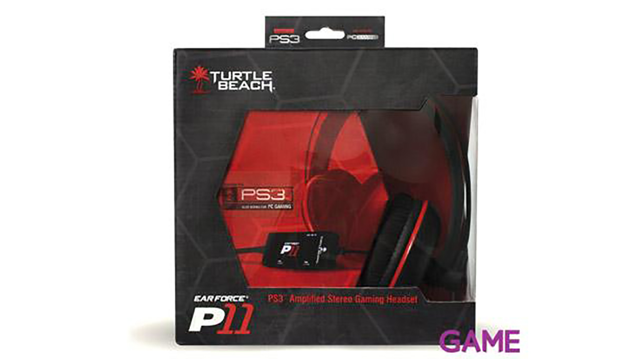 Auriculares Turtle Beach Ear Force P11 Hs Ps3/Pc