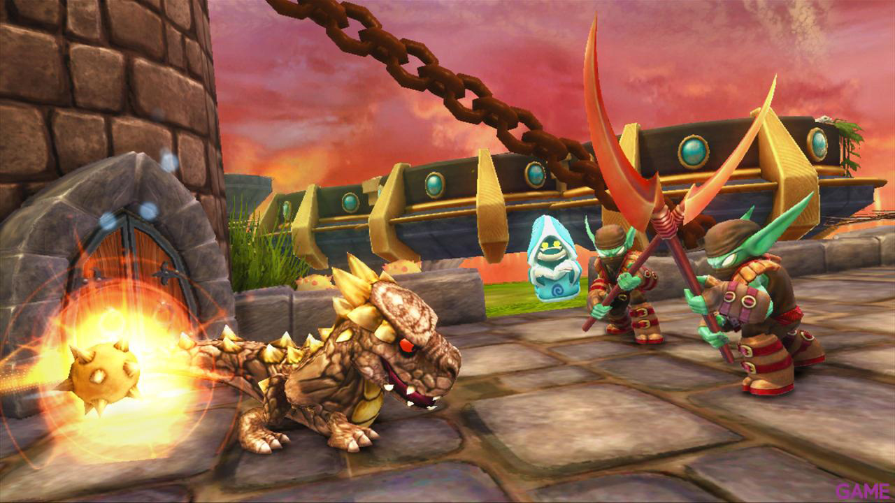Skylanders Triple Pack A: Drodot + Flameslinger + Stump Smash