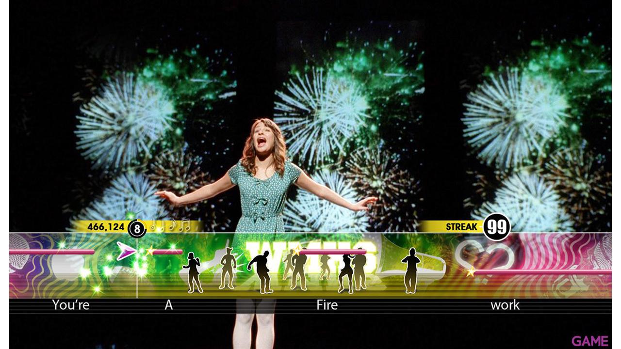 Karaoke Revolution Glee 3 + Microfono