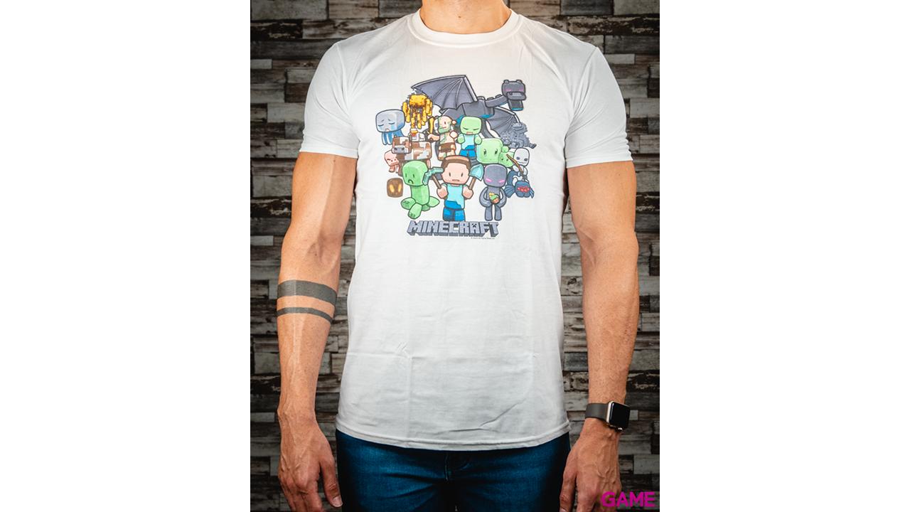 Camiseta Minecraft Party Youth Talla M