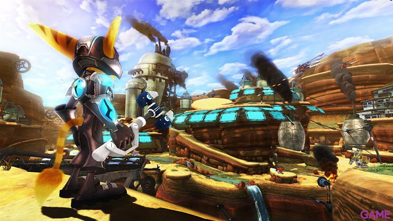 Ratchet & Clank: Atrapados en el Tiempo Essentials