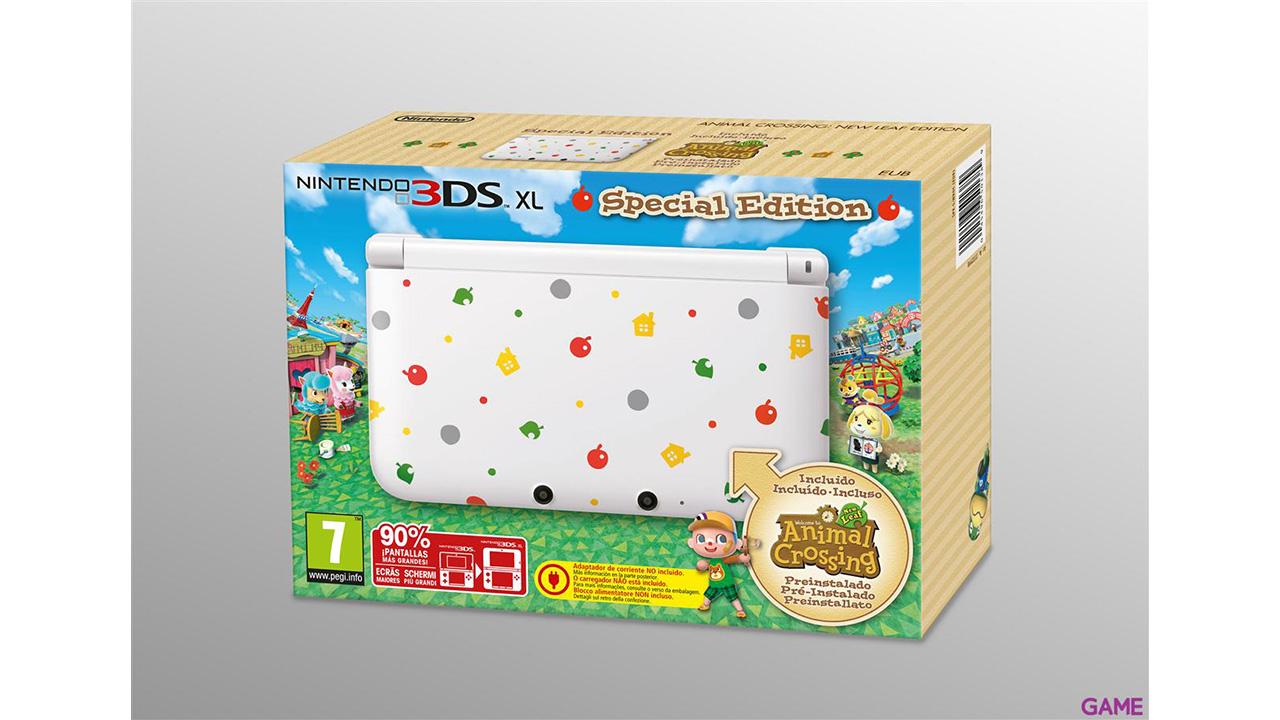 Nintendo 3DS XL + Animal Crossing: New Leaf (Preinstalado)