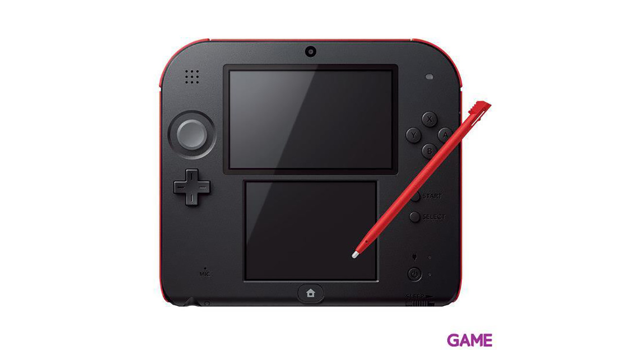 Nintendo 2DS Blanco-Rojo
