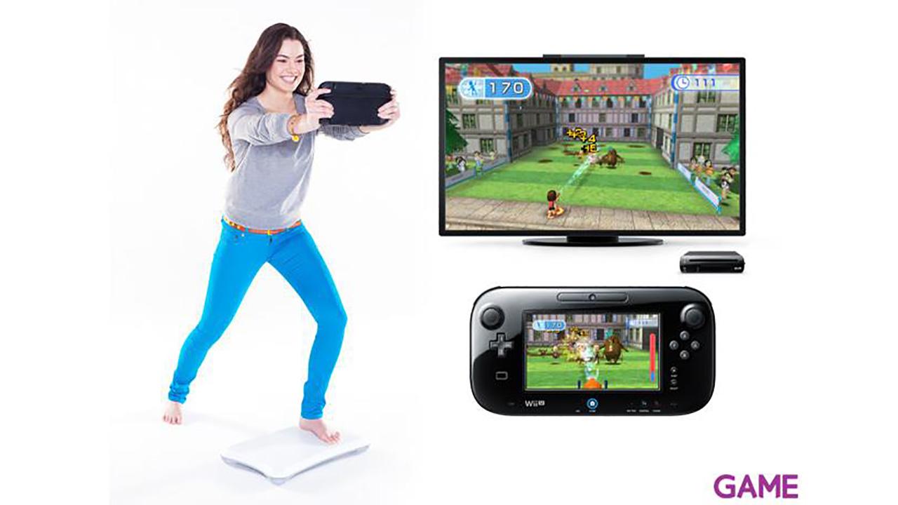 WiiU Fit + Podometro + Balance Board