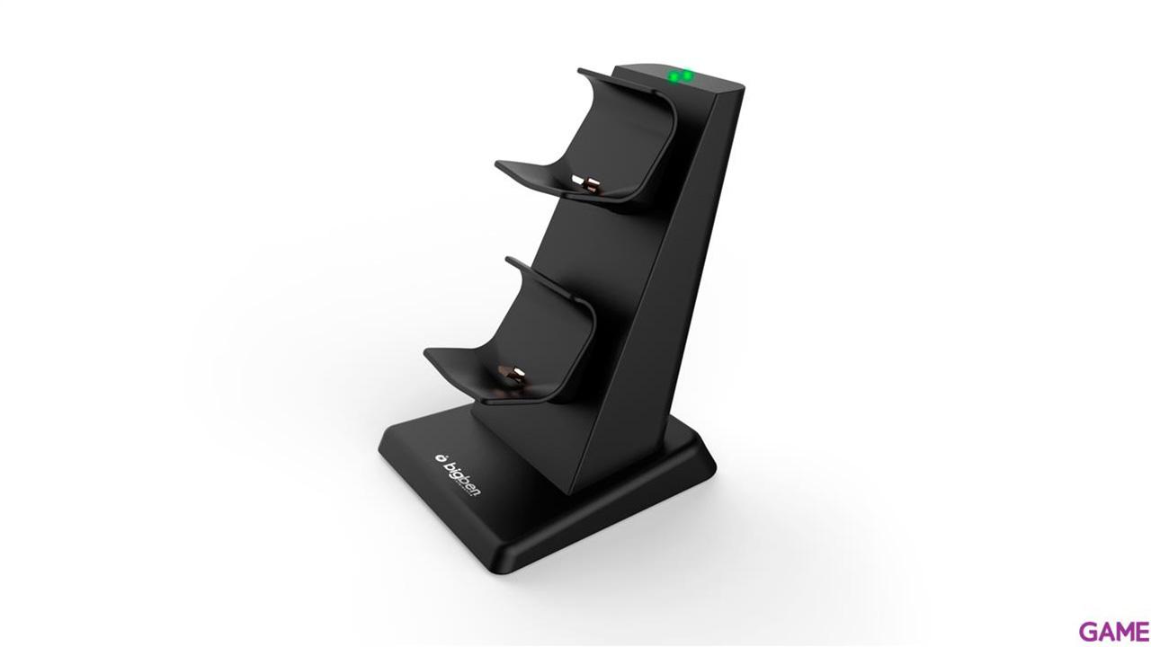 Base de Carga Dual para PS4 con Cable USB incluído