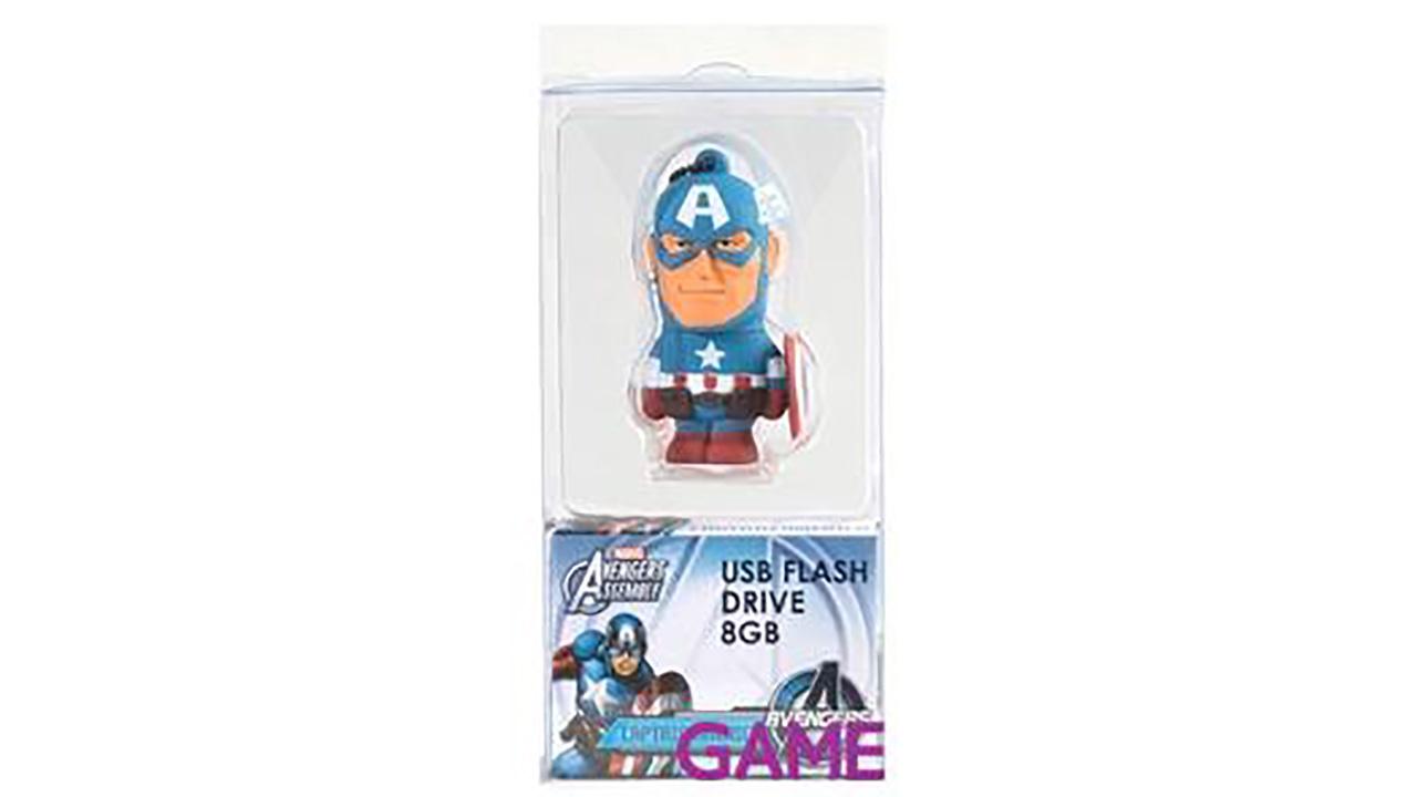 Memoria USB 8 Gb Capitán América