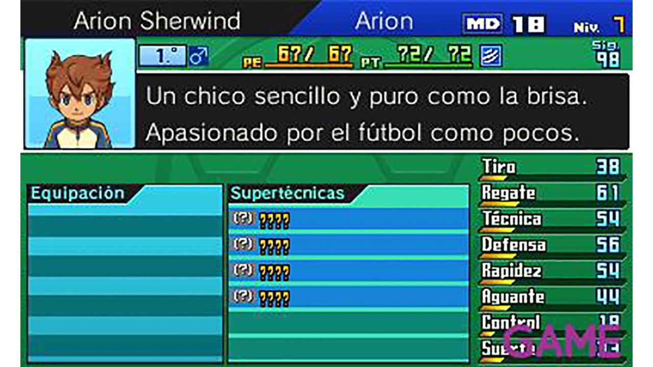 Inazuma Eleven Go: Sombra
