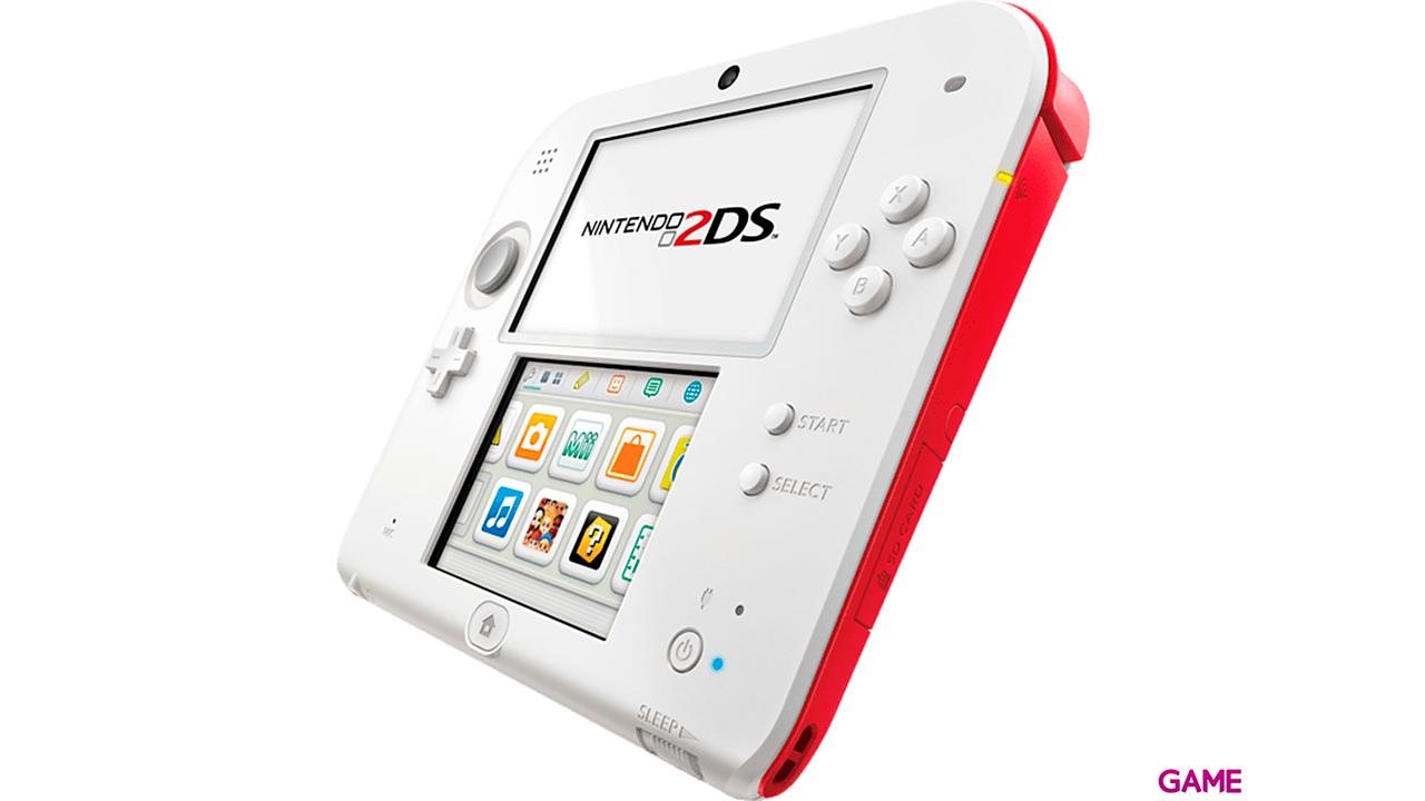 Nintendo 2DS Roja + New Super Mario Bros 2