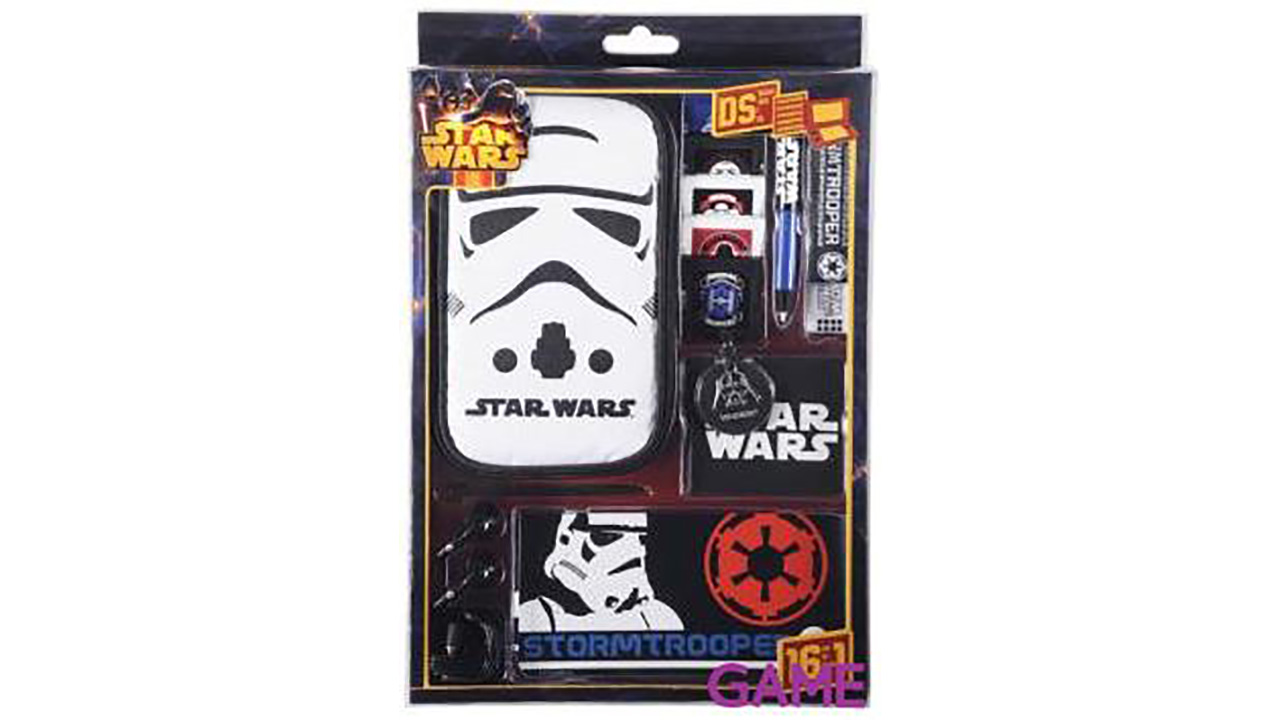 Kit Accesorios 16 en 1 Star Wars 3DS/3DSXL