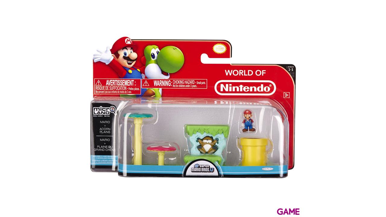 Micro Playset Mario Serie 1