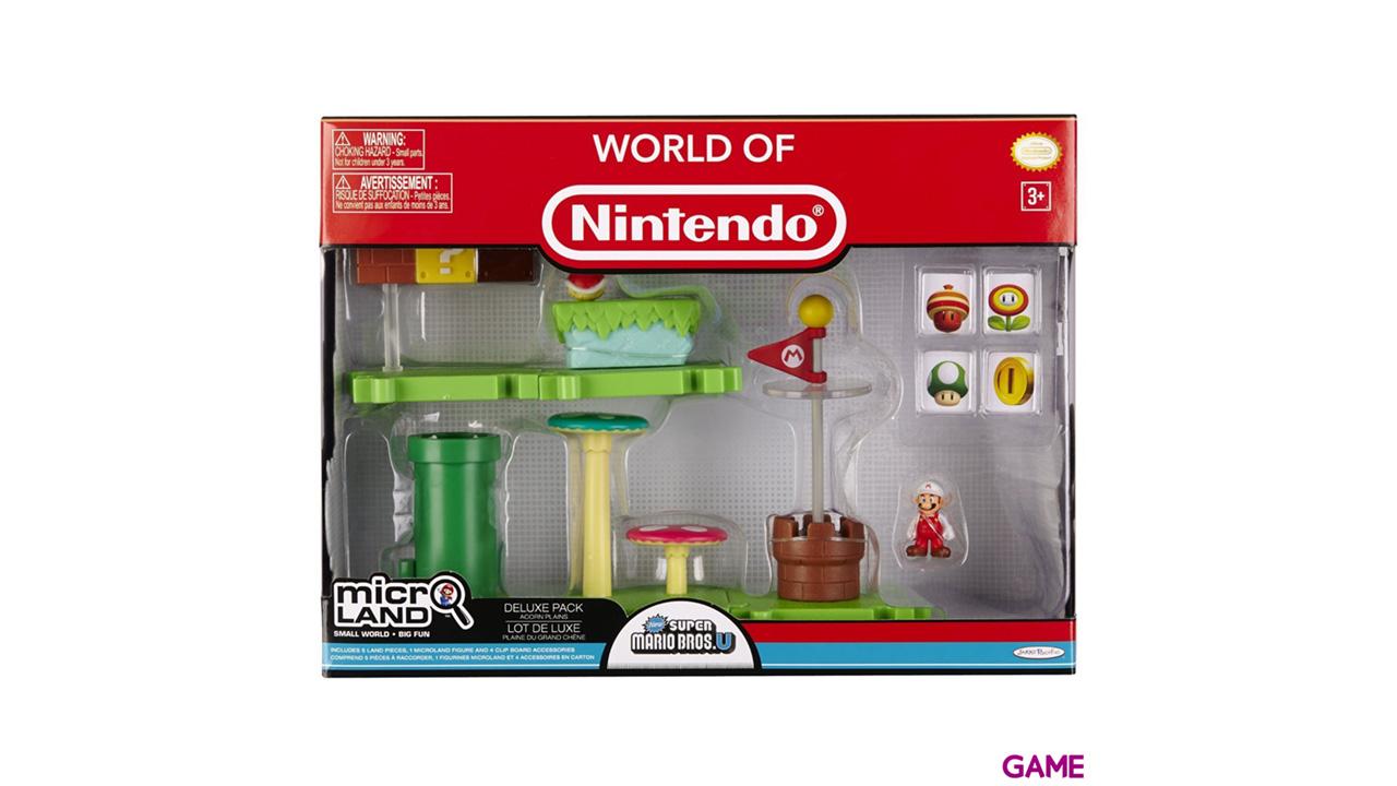 Micro Playset Deluxe Mario Serie 1