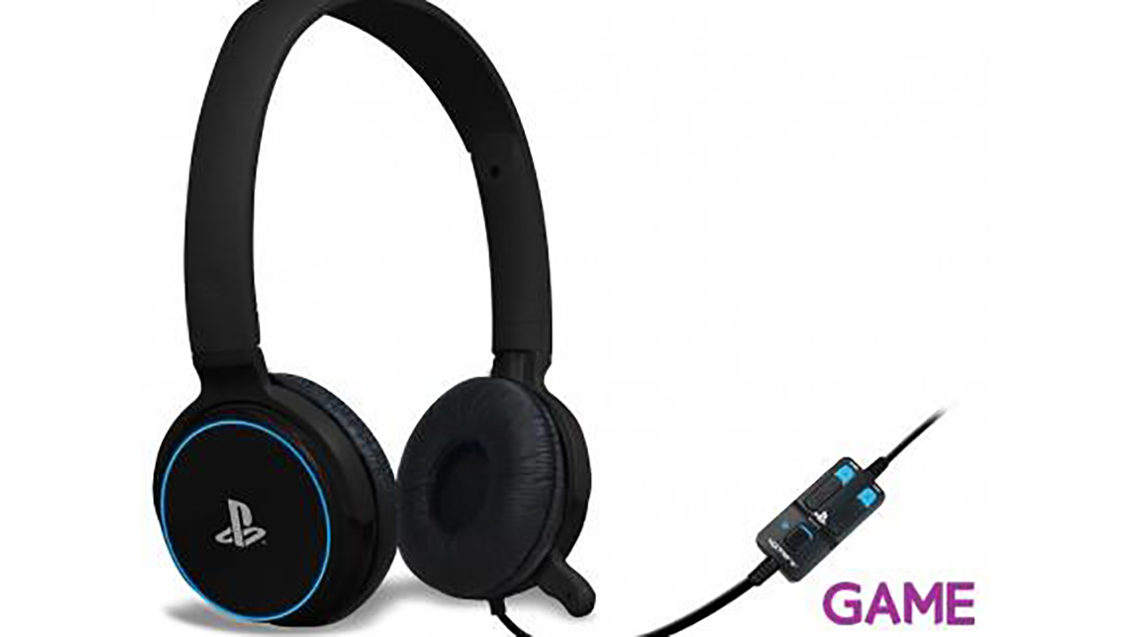 Auriculares 4Gamers CP-01 Azul -Licencia Oficial Sony-