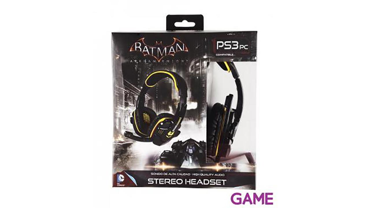 Auriculares Estéreo Batman Arkham City