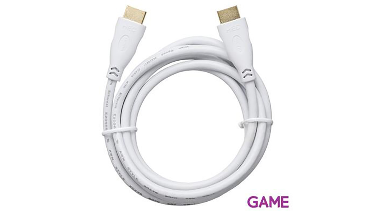 Cable HDMI 3D Blanco Bigben