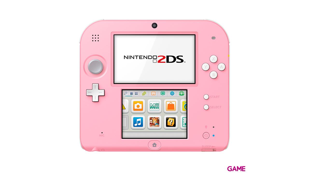Nintendo 2DS Rosa + Tomodachi (Preinstalado)