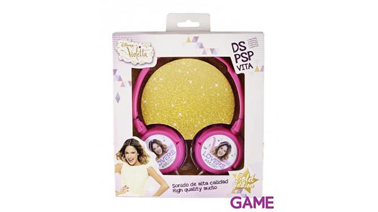 Auriculares Violetta 3DS-3DSXL-PSP-PSV