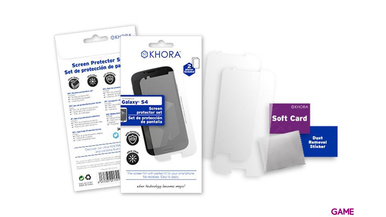 Set de Protección de Pantalla para Galaxy S4 Khora