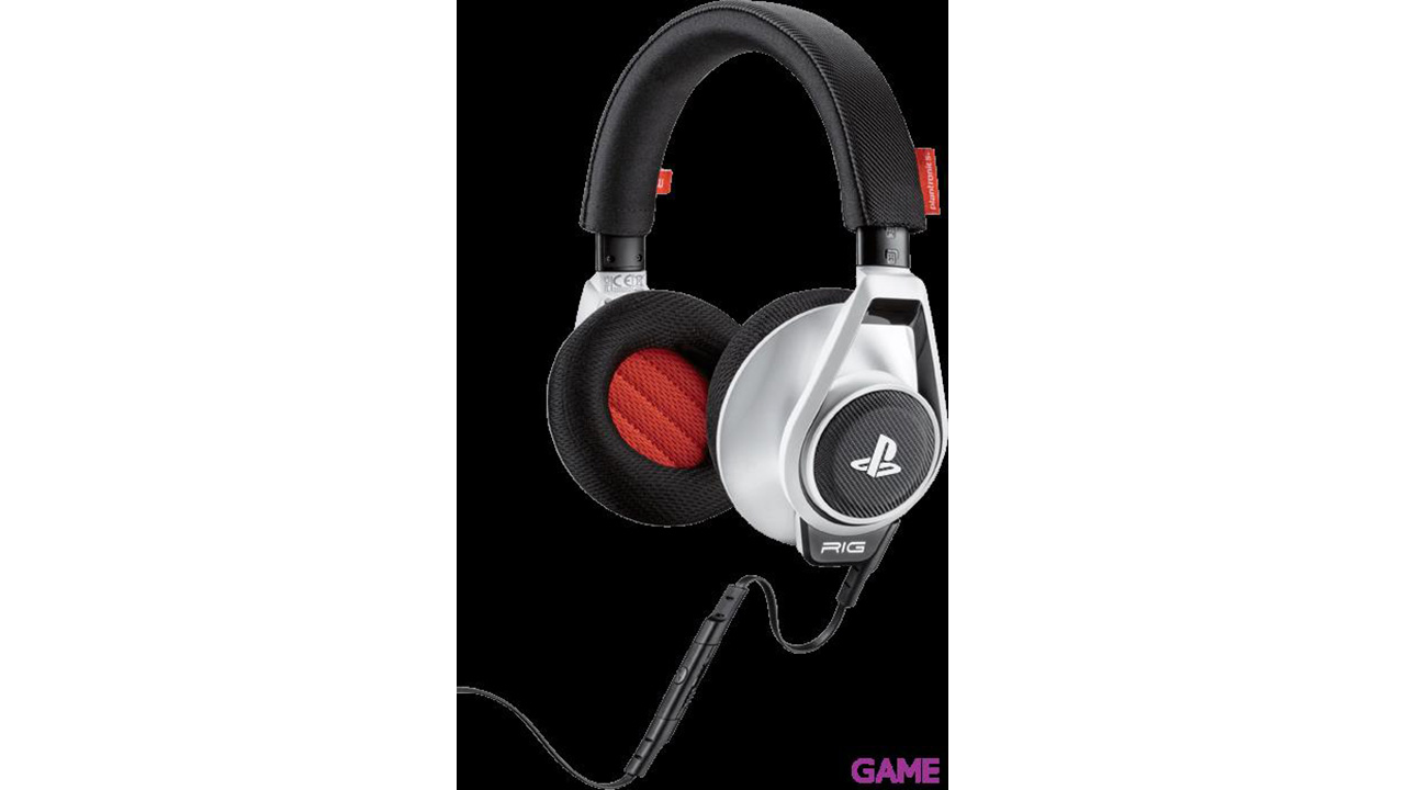 Auriculares Plantronics Rig Blancos PS4-PS3-PSV