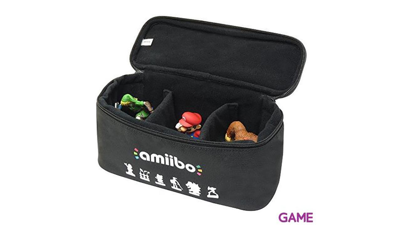 Bolsa Amiibo Trio Case Hori -Licencia Oficial Nintendo-