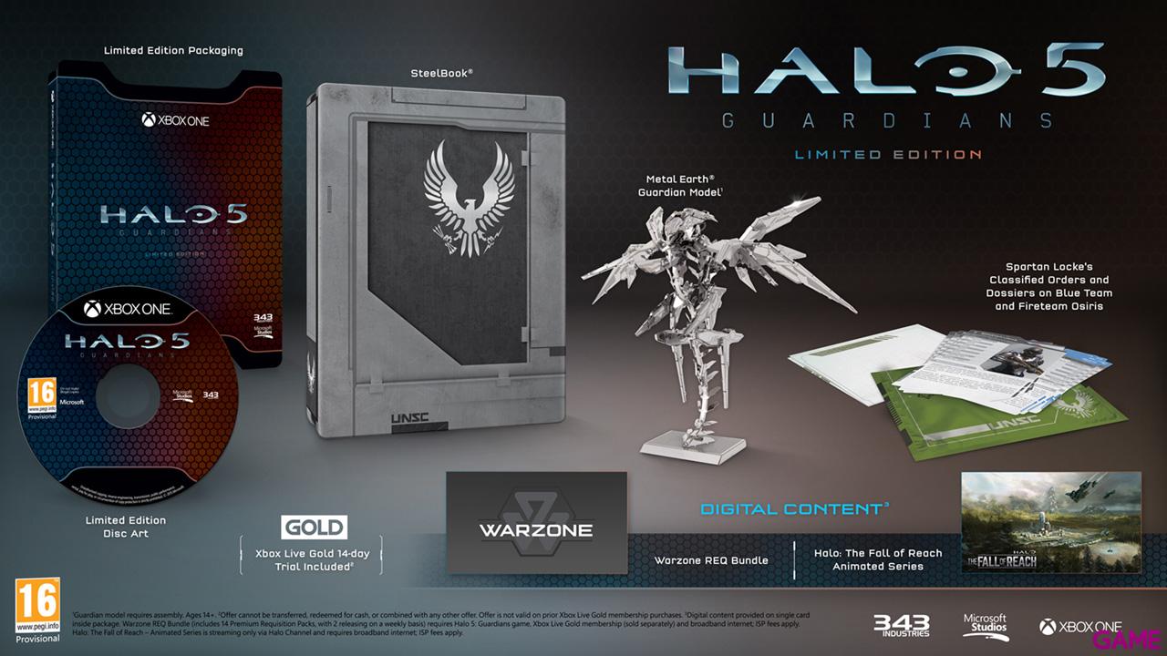 Halo 5: Guardians Edicion Limitada
