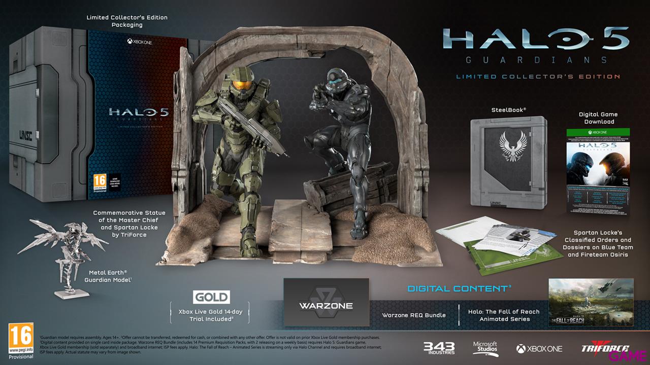 Halo 5: Guardians Edicion Coleccionista