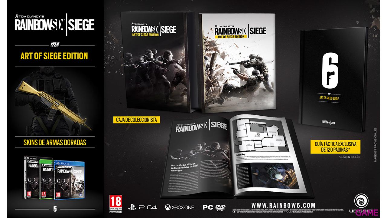 Rainbow Six Siege: Art of Siege Edition
