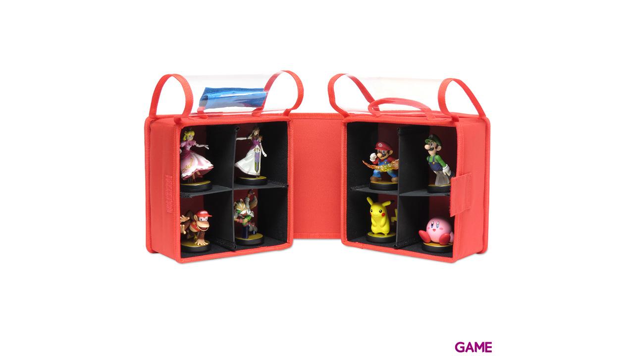 Bolsa de Transporte 8 Amiibo Hori -Licencia Oficial Nintendo-