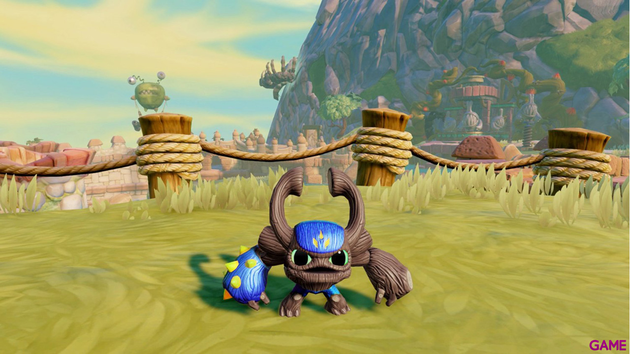Figura Skylanders Trap Team Mini: Gnarly Barkley