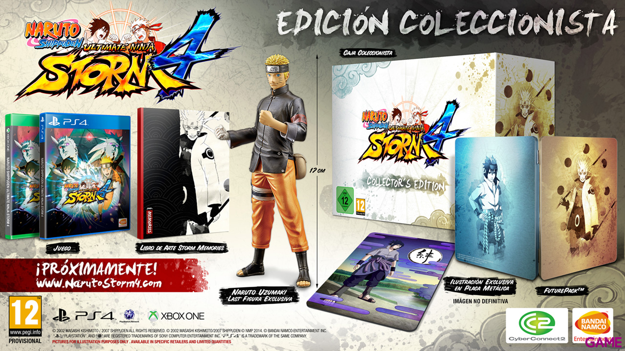 Naruto Shippuden Ultimate Ninja Storm 4 Collector