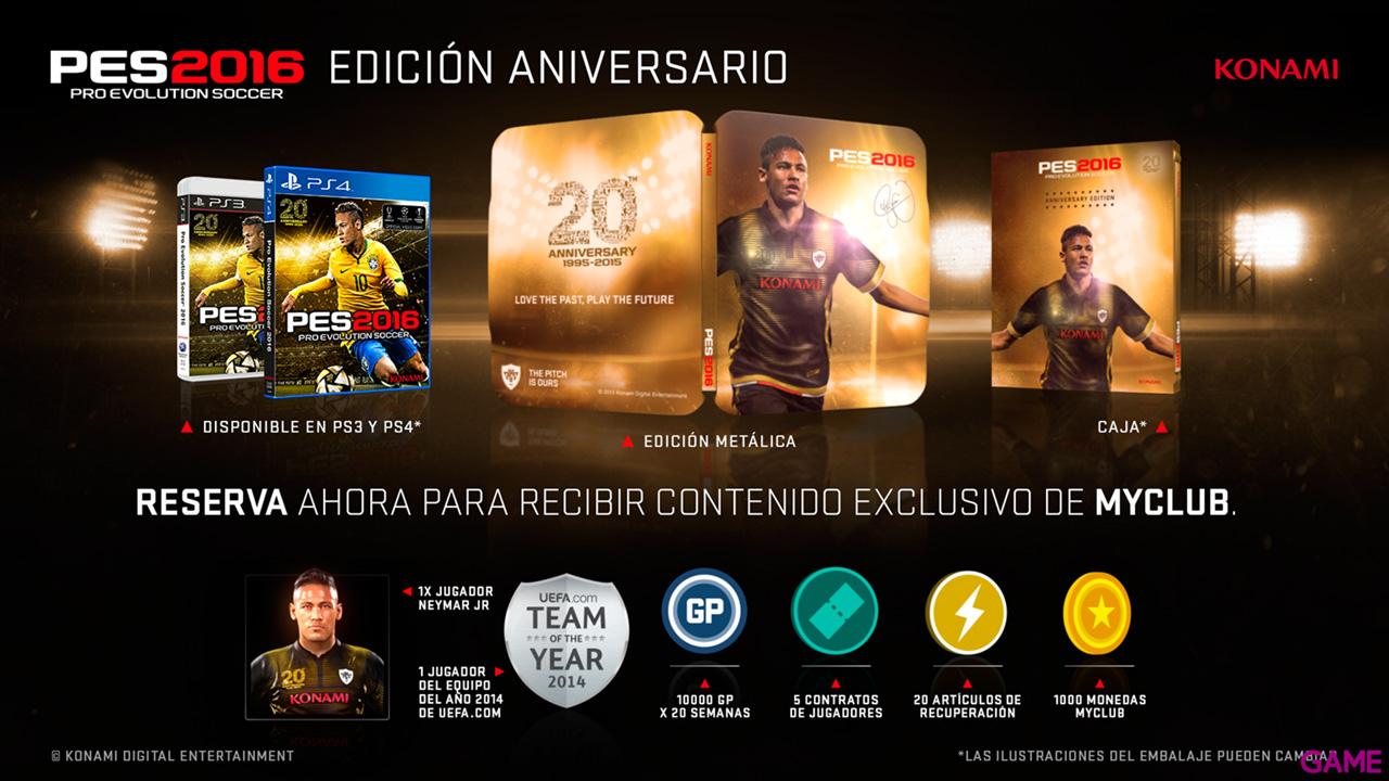 Pro evolution Soccer 2016 Ed Aniversario