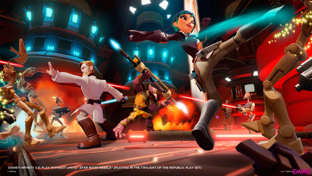 Playstation 4 500Gb + Disney Infinity 3.0 Star Wars