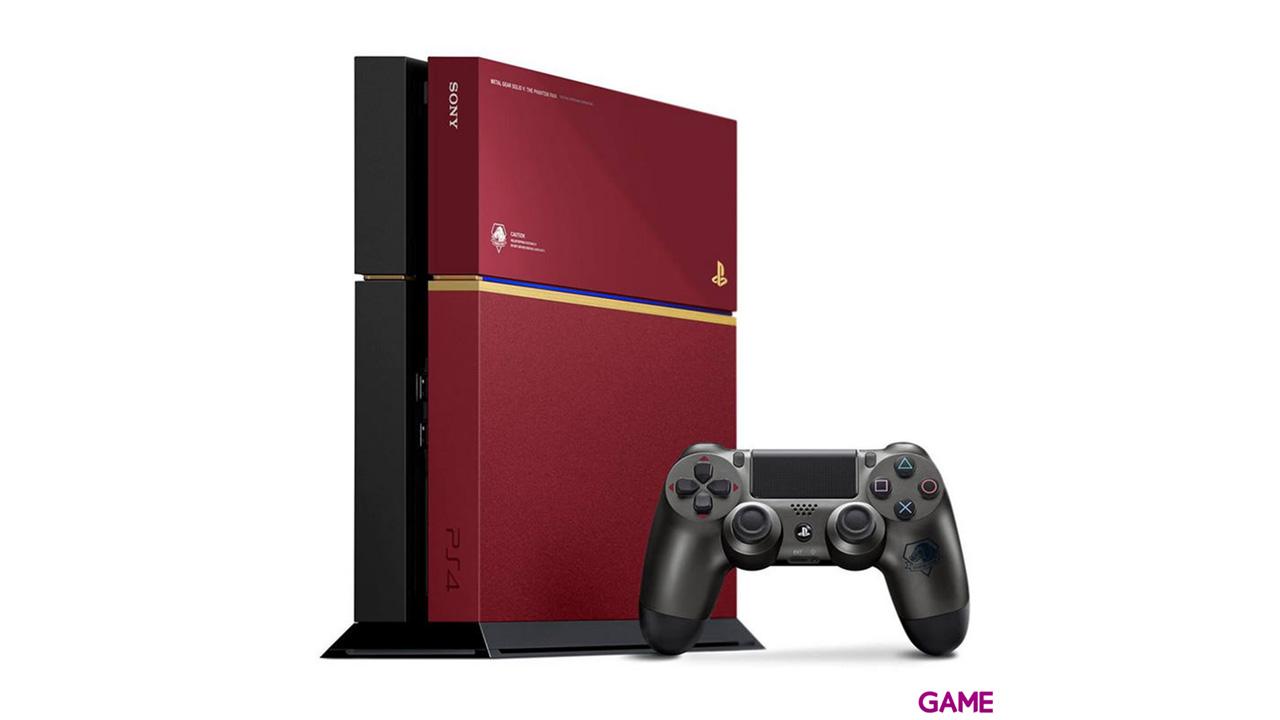 Playstation 4 500Gb Edición Especial + Metal Gear Solid V